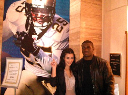 Kim Kardashian, Reggie Bush, Twitter