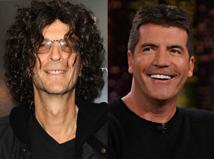 Howard Stern, Simon Cowell