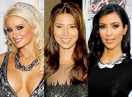 Holly Madison, Roselyn Sanchez, Kim Kardashian