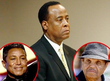 Conrad Murray, Jermaine Jackson, Joe Jackson
