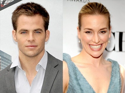 Chris Pine, Piper Perabo