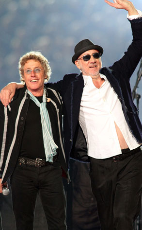 Roger Daltrey, Pete Townshend, The Who