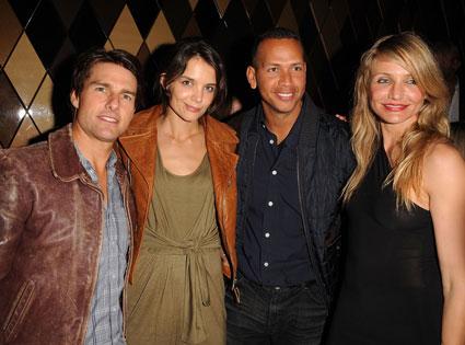Tom Cruise, Katie Holmes, Alex Rodriguez, Cameron Diaz
