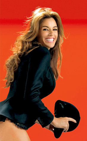 Kelly Bensimon, Playboy, Inside