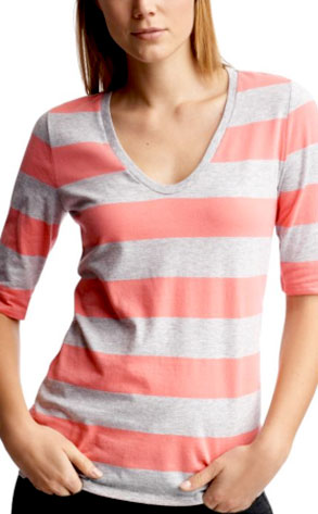 Gap Rugby Striped U-Neck