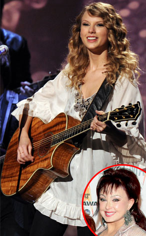 Taylor Swift, Naomi Judd