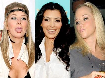Holly Montag, Kim Kardashian, Kendra Wilkinson-Baskett