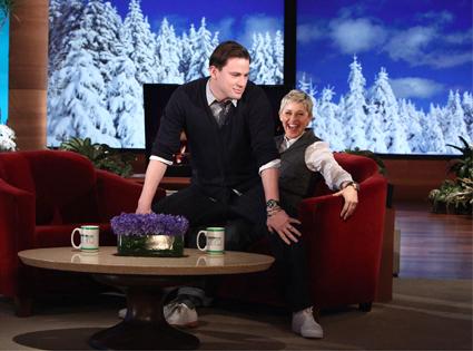 Channing Tatum , Ellen DeGeneres
