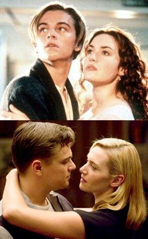 Kate Winslet, Leonardo DiCaprio, Titanic, Revolutionary Road