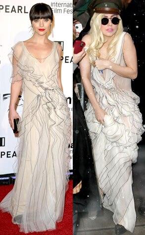 Christina Ricci, Lady Gaga
