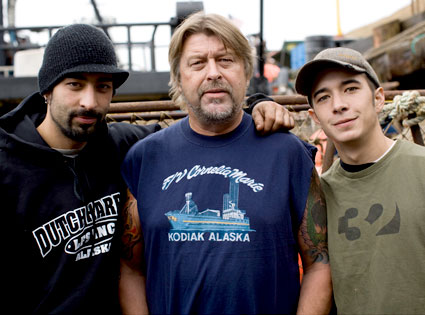 Phil Harris, Josh Harris, Jake Harris, Deadliest Catch