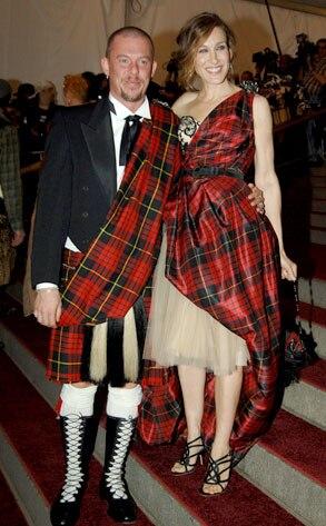 Sarah Jessica Parker, Alexander McQueen