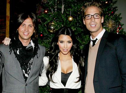 Jonathan Cheban, Kim Kardashian, Simon Huck