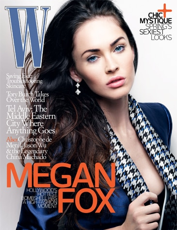 Megan Fox, W Magazine