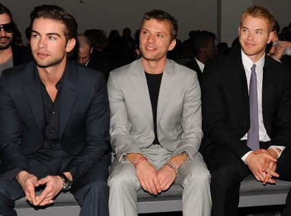 Chace Crawford, Ryan Phillippe, Kellan Lutz
