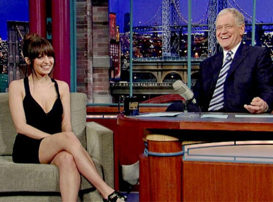 Nicole Richie, David Letterman