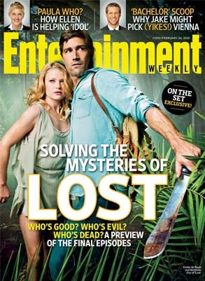 Lost, Entertainment Weekly, Cover