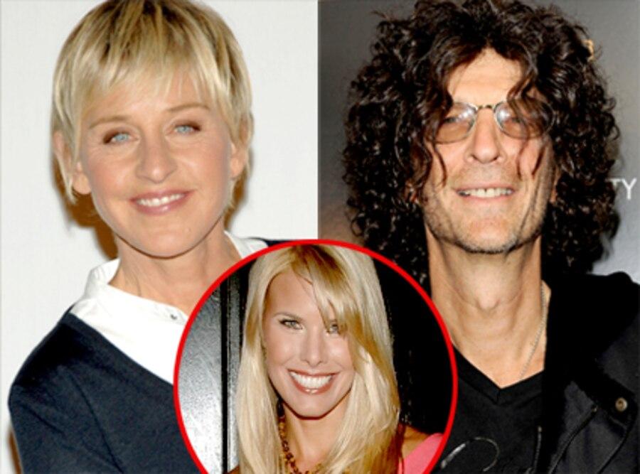 Ellen DeGeneres, Howard Stern, Beth Ostrosky Stern