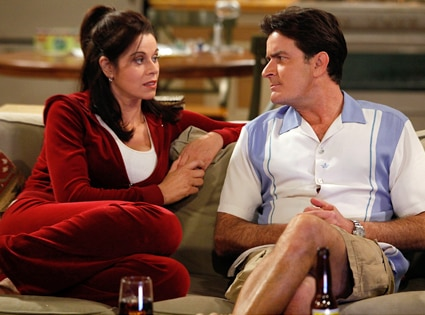 Jennifer Taylor, Charlie Sheen, Two and a Half Men