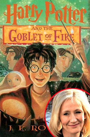 Harry Potter and the Goblet of Fire, JK Rowling