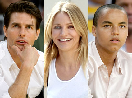 Tom Cruise, Cameron Diaz, Connor Cruise