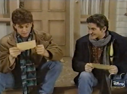 Kirk Cameron, Andrew Koenig, Growing Pains