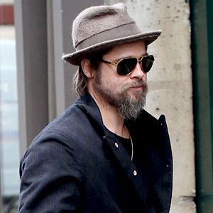 Brad Pitt's Beard Boredom | E! News