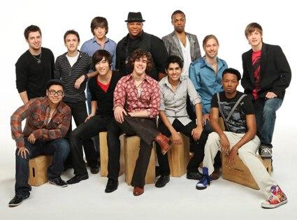 American Idol, Top 12 Guys