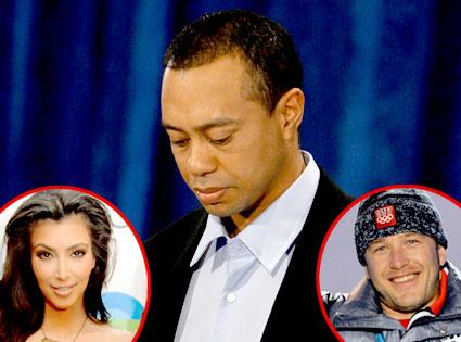 Tiger Woods, Kim Kardashian, Bode Miller
