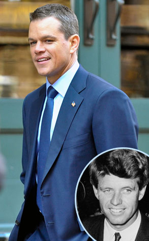 Matt Damon, Robert Kennedy