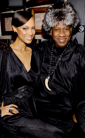 Tyra Banks, Andre Leon Talley