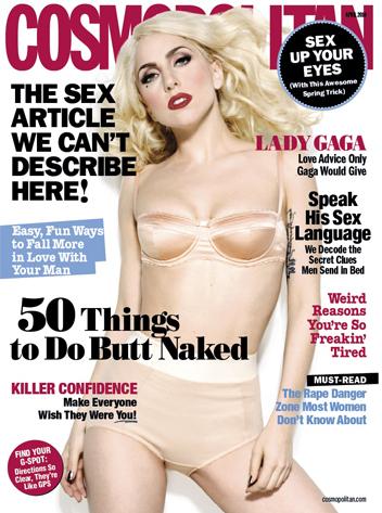 Lady Gaga, Cosmopolitan Cover
