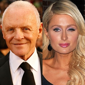 Anthony Hopkins, Paris Hilton