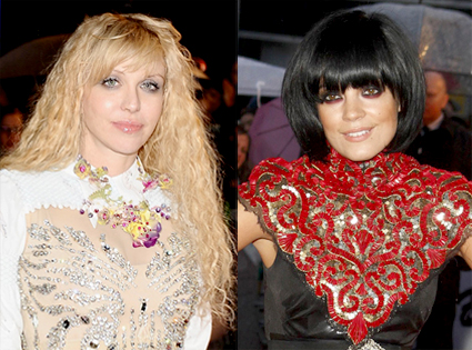 Courtney Love, Lily Allen