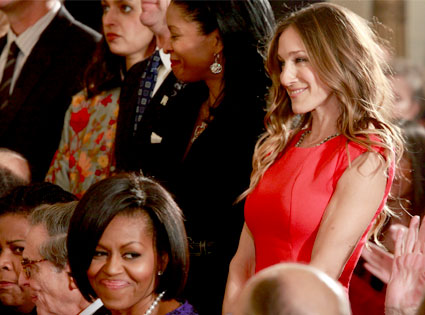 Sarah Jessica Parker, Michelle Obama