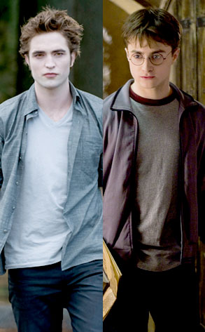 Robert Pattinson, New Moon, Daniel Radcliffe, Harry Potter and the Half- Blood Prince