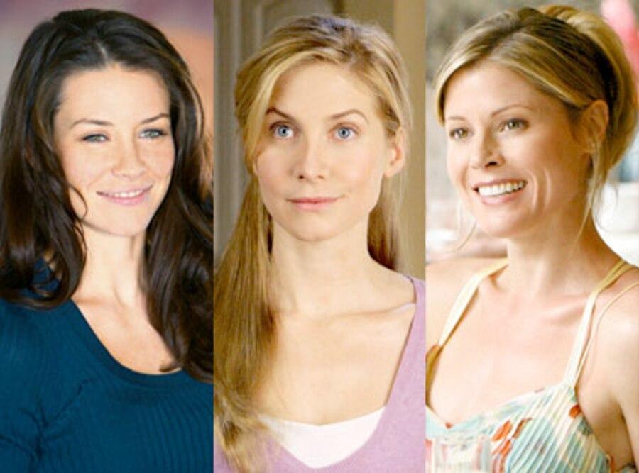Julie Bowen, Evangeline Lilly, Elizabeth Mitchell, Lost