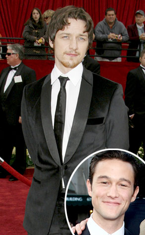 James McAvoy, Joseph Gordon-Leavitt