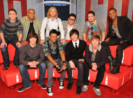 American Idol, Top 10 Boys