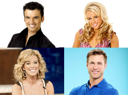 Tony Dovolani, Chelsie Hightower, Kate Gosselin, Jake Pavelka