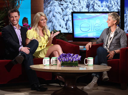 Ellen DeGeneres, Jake Pavelka, Vienna Girardi