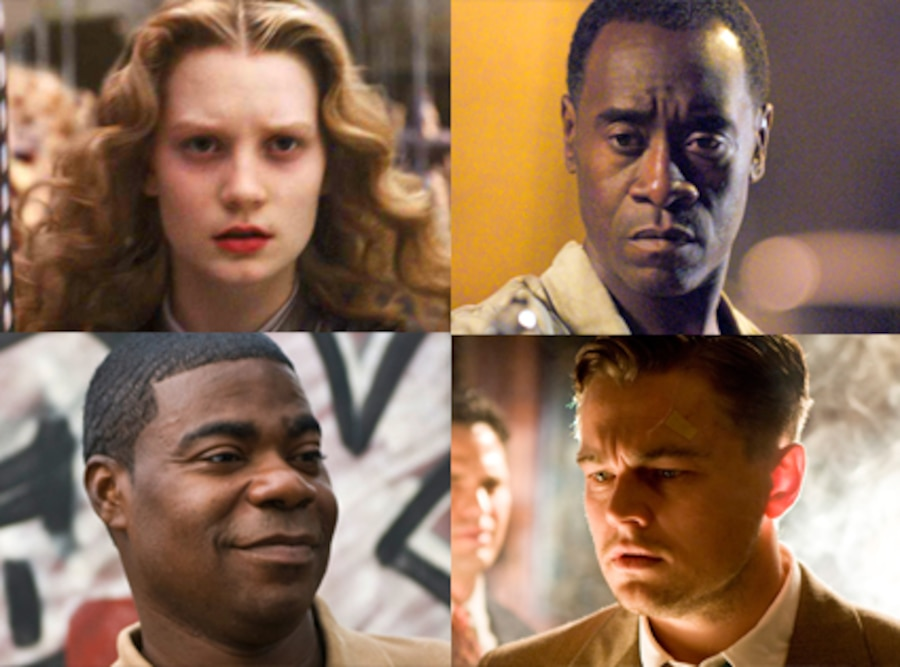 Mia Wasikowska, Alice in Wonderland, Don Cheadle, Brooklyn's Finest, Tracy Morgan, Cop Out, Leonardo DiCaprio, Shutter Island