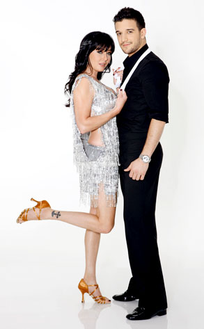 Shannen Doherty, Mark Ballas, Dancing with the Stars