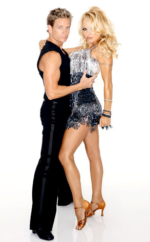 Damien Whitewood, Pamela Anderson, Dancing with the Stars
