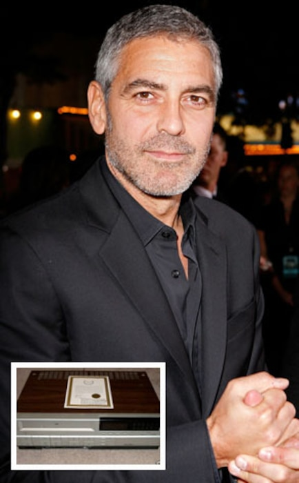George Clooney, VCR