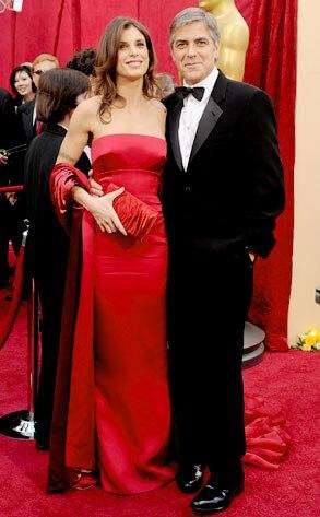 Elisabetta Canalis, George Clooney