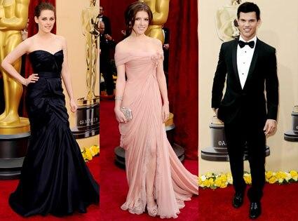 Kristen Stewart, Anna Kendrick, Taylor Lautner