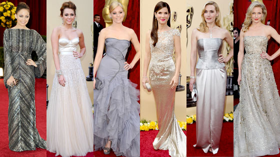 Nicole Richie, Miley Cyrus, Elizabeth Banks, Sandra Bullock, Kate Winslet, Cameron Diaz