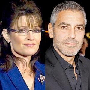 Sarah Palin, George Clooney