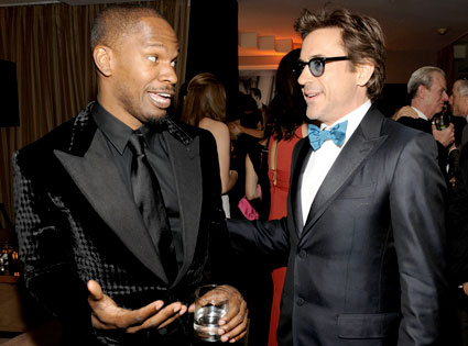 Jamie Foxx, Robert Downey Jr.